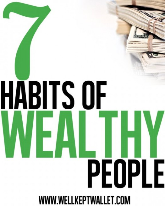 Seven Habits of Wealthy people picture