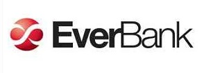 Everbank logo white