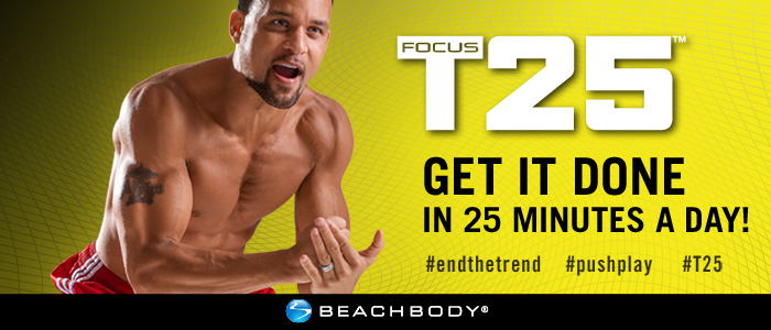 Focus T25 Workout to get back in shape