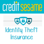 credit sesame over the words identity theft insurance