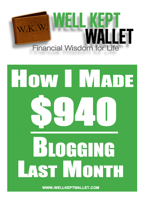 WKW Blogging Income Feb
