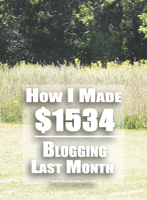 WKW Blogging Income April